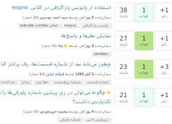 راهاندازی آزمایشی سایت جدید پرسش و پاسخ پارسیلاتک